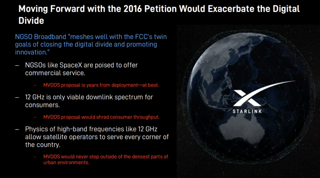 SpaceX 2016 petition opposition