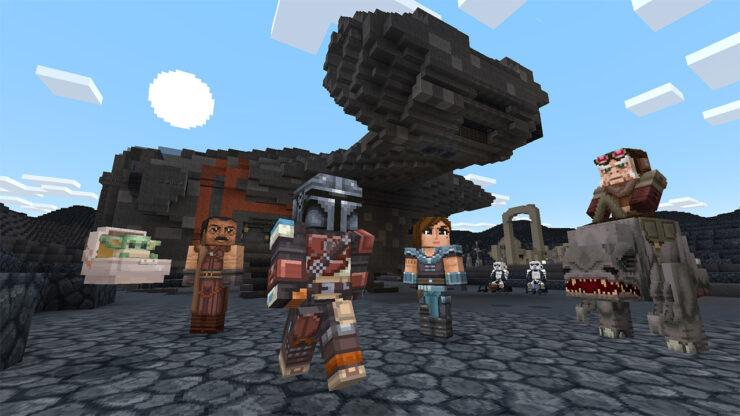 Minecraft Star Wars