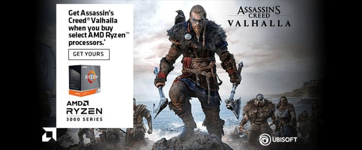 Assassin's Creed Valhalla AMD Promotion