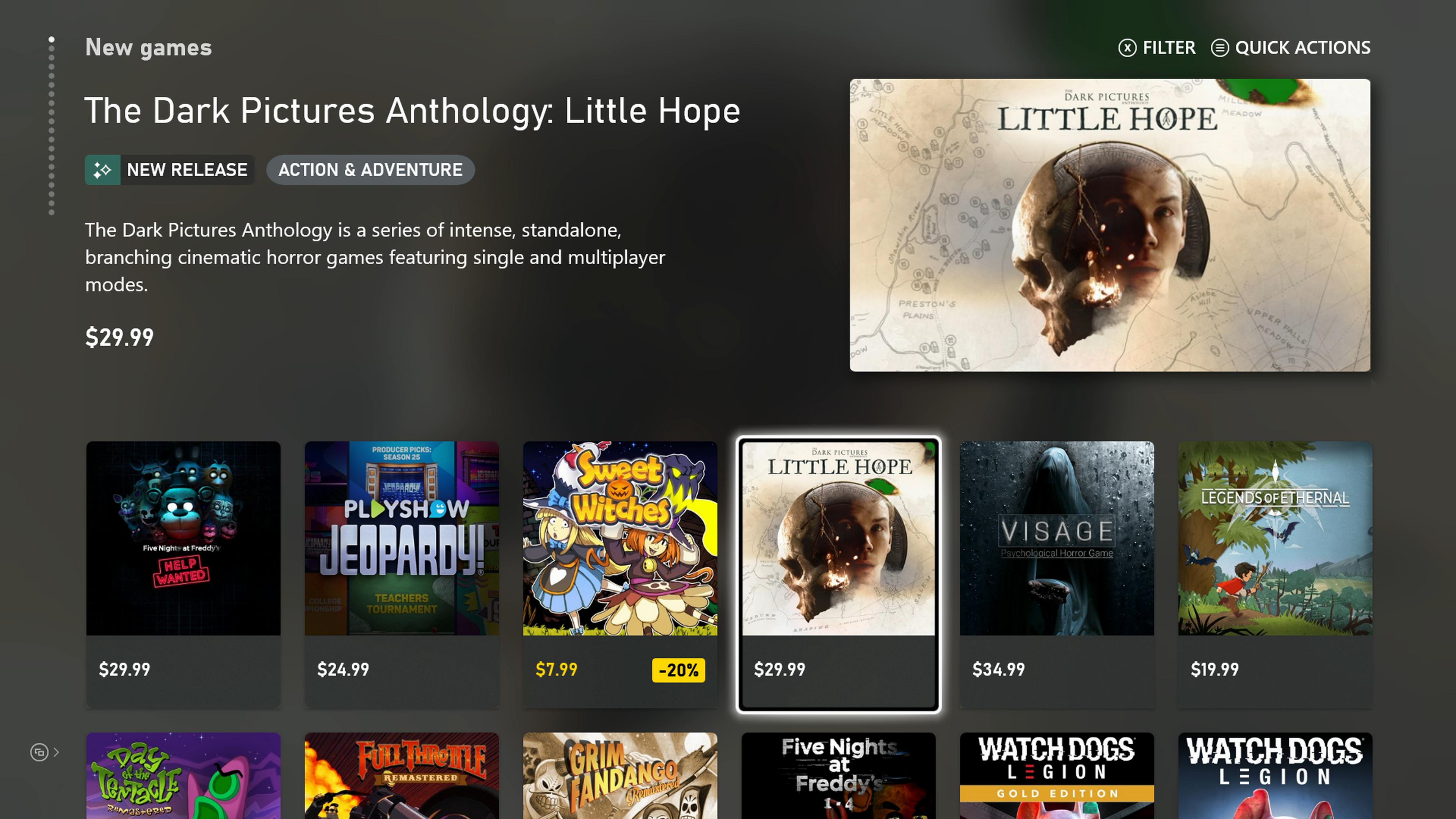 Xbox Series X store