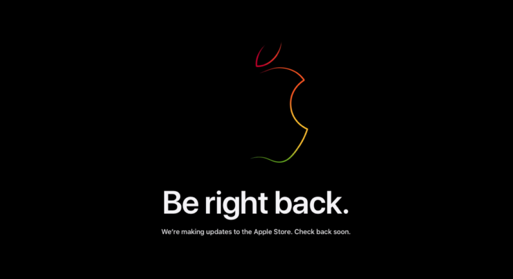 Apple Store goes down ahead of 'One More Thing' event