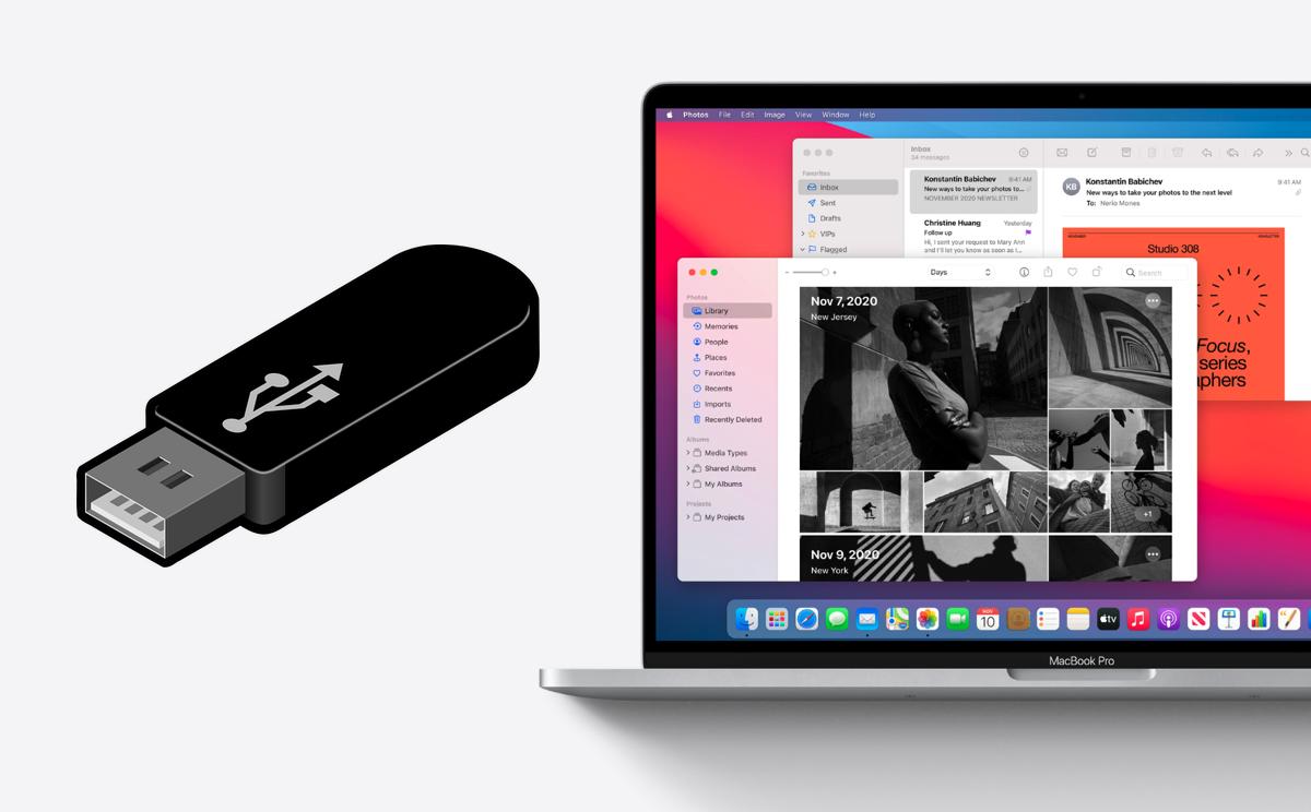 Create macOS Big Sur installer USB drive