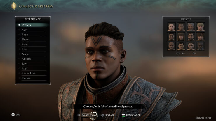 demon's souls playstation 5 character creator 2