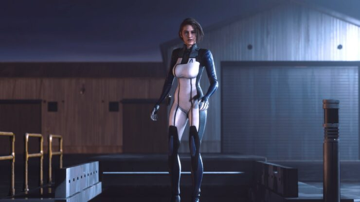 resident evil 3 remake edi suit mod mass effect 3 2