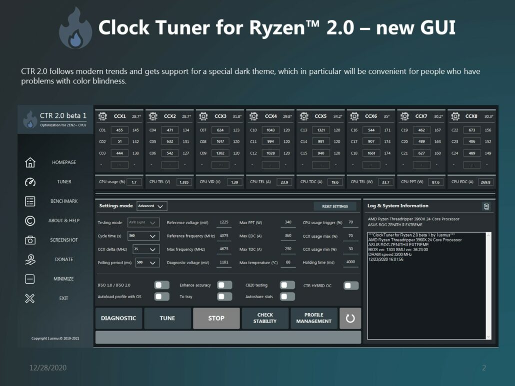 1usmus's CTR 2.0 (Clock Tuner For AMD Ryzen) Adds Support For AMD Ryzen 5000 'Zen 3' Desktop CPUs _1