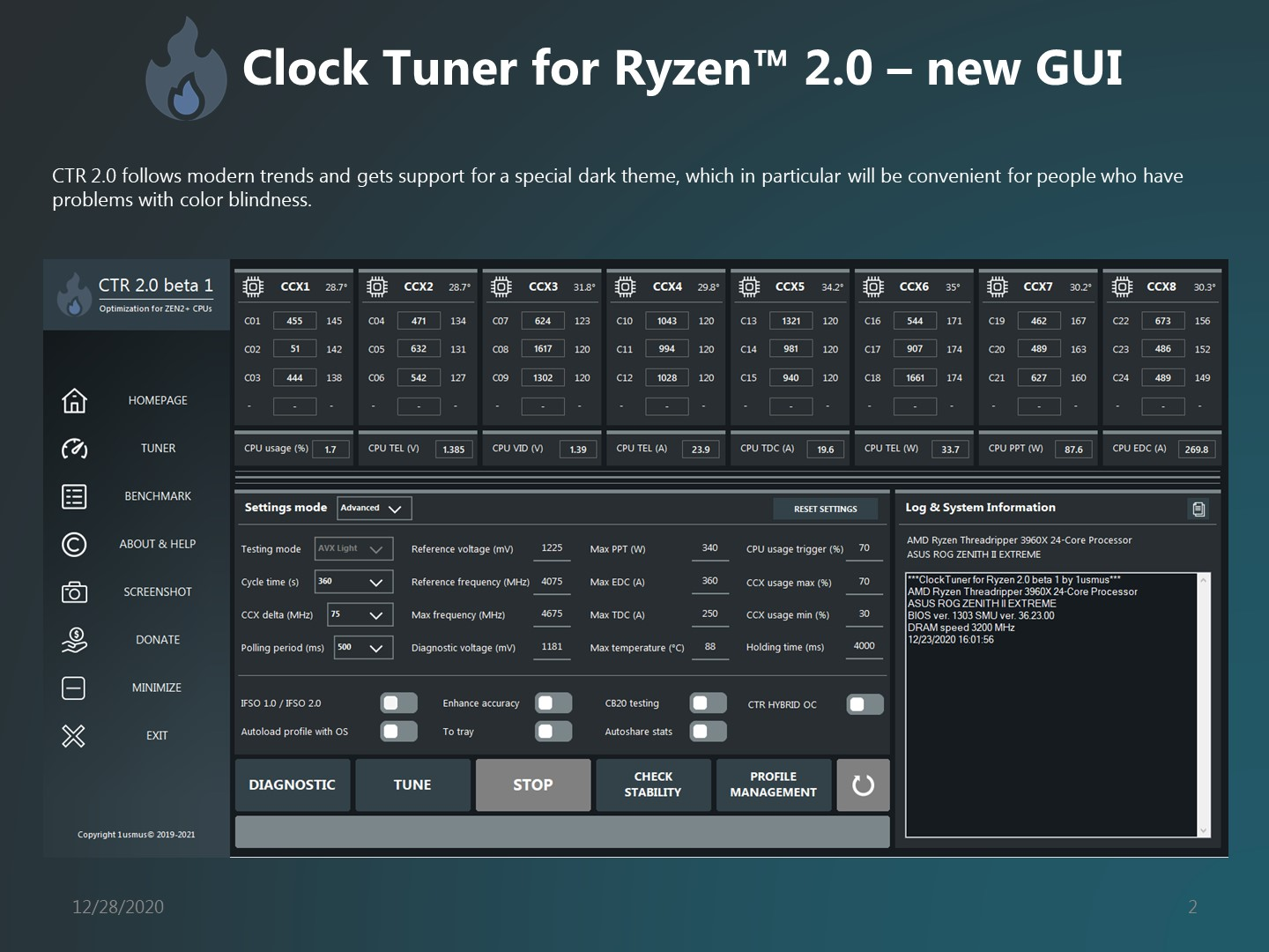 Clock Tuner For Ryzen 2.0 Now Available For Download, Adds Zen 3 'Ryzen 5000' CPU Support, Hybrid OC, Phoenix Mode & More