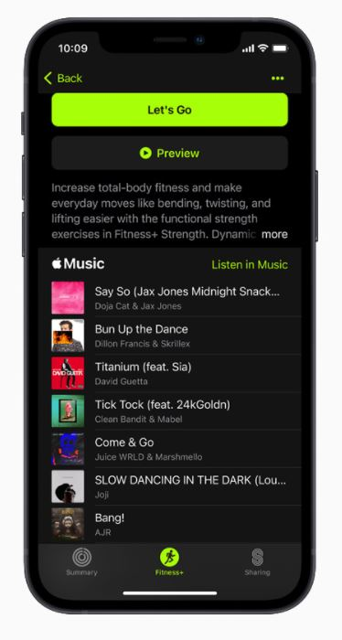 Apple Fitness+ Sign Up