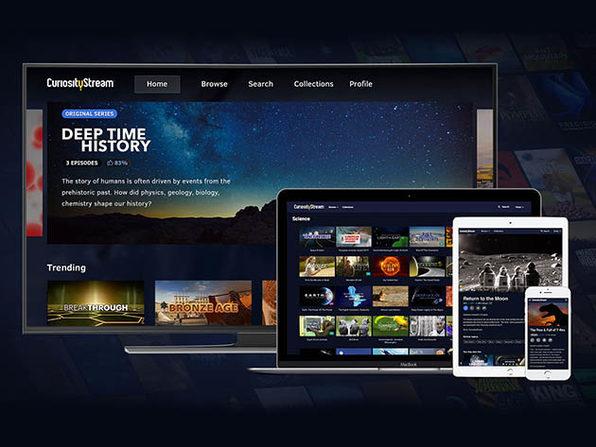 CuriosityStream HD Plan Lifetime Subscription