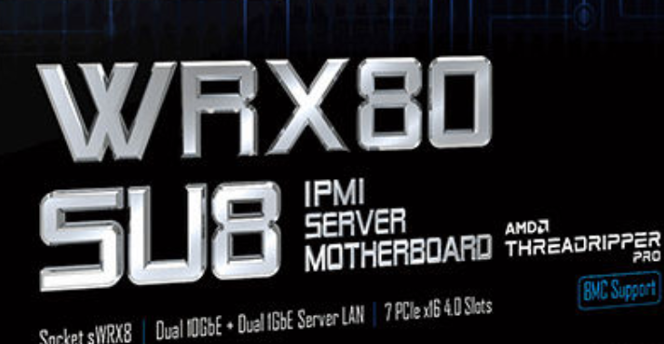 Image of article 'Gigabyte WRX80 SU8 Motherboard For AMD Ryzen Threadripper Pro CPUs Leaked'