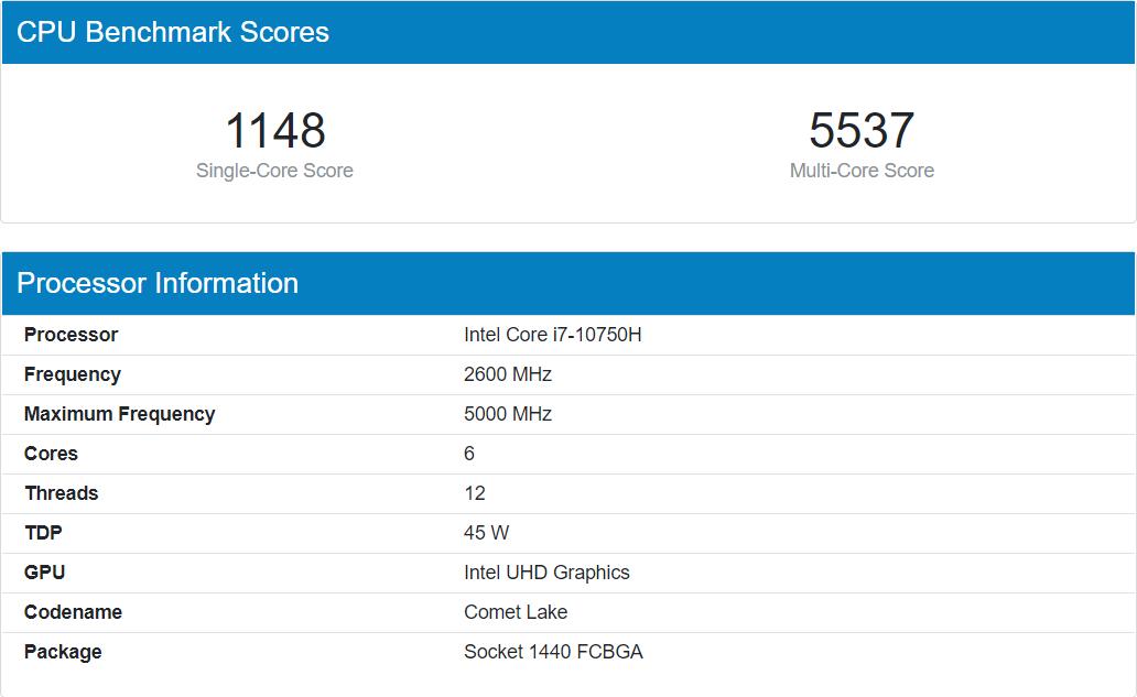 intel-core-i7-10750h-benchmark-geekbench