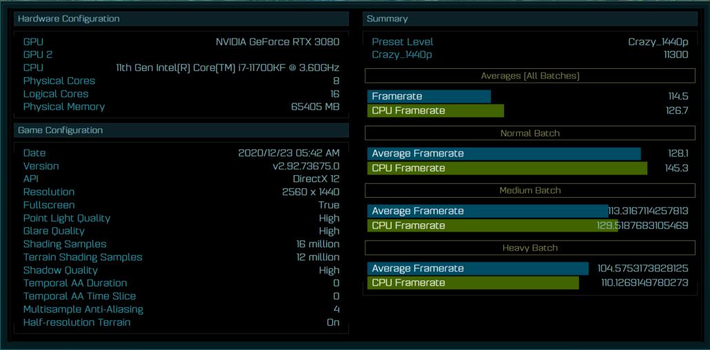Intel Core i7-11700KF 8 Core Rocket Lake Desktop CPU Benchmarks Ashes of The Singularity _1