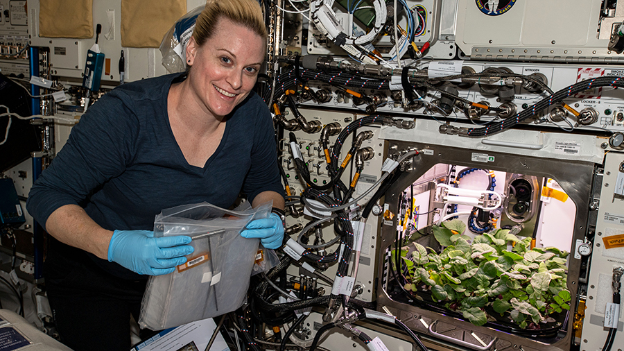 NASA Astronaut Kate Rubins ISS