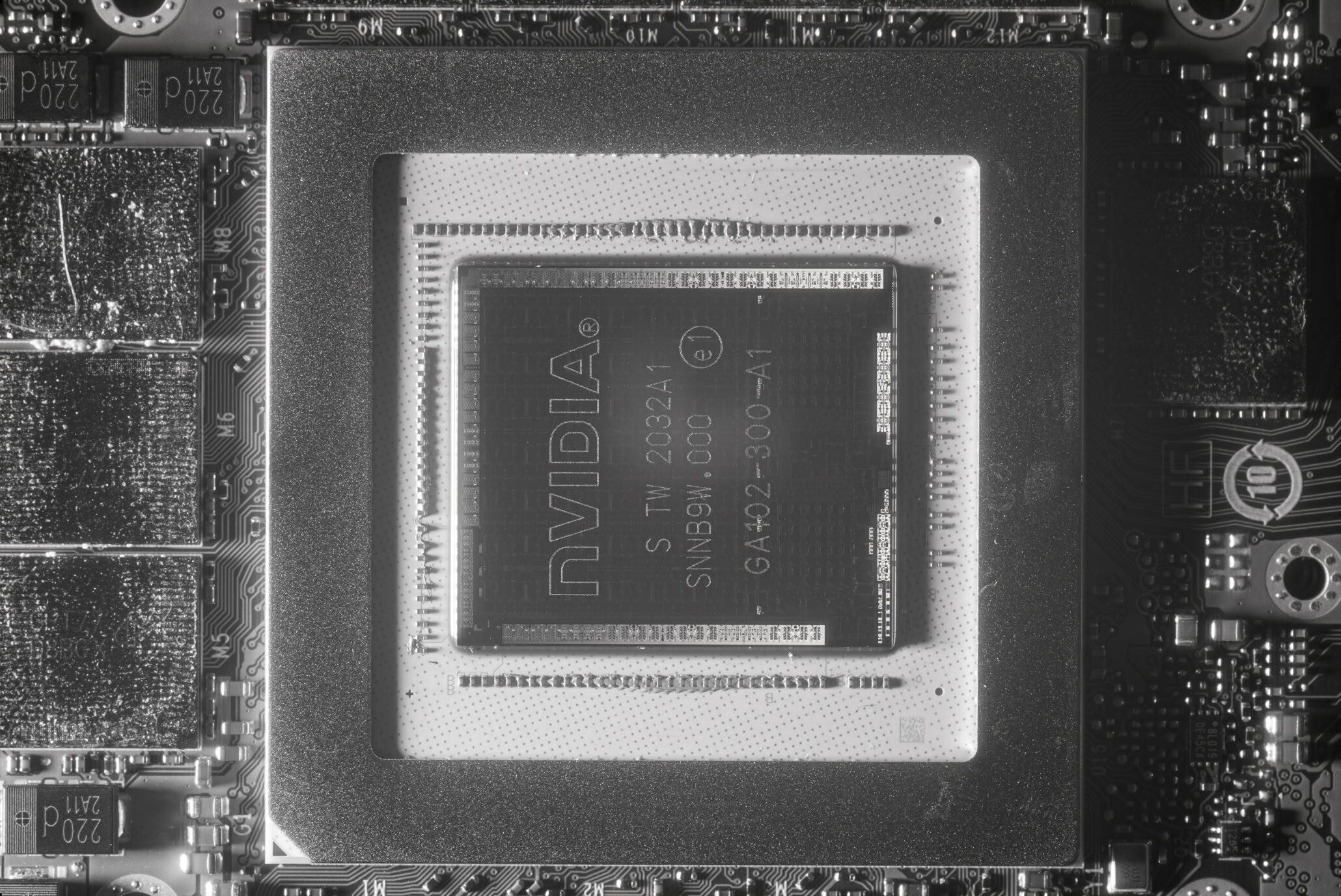 NVIDIA Flagship Ampere Gaming GPU, GA102, Mendapat Die-Shot Pertama
