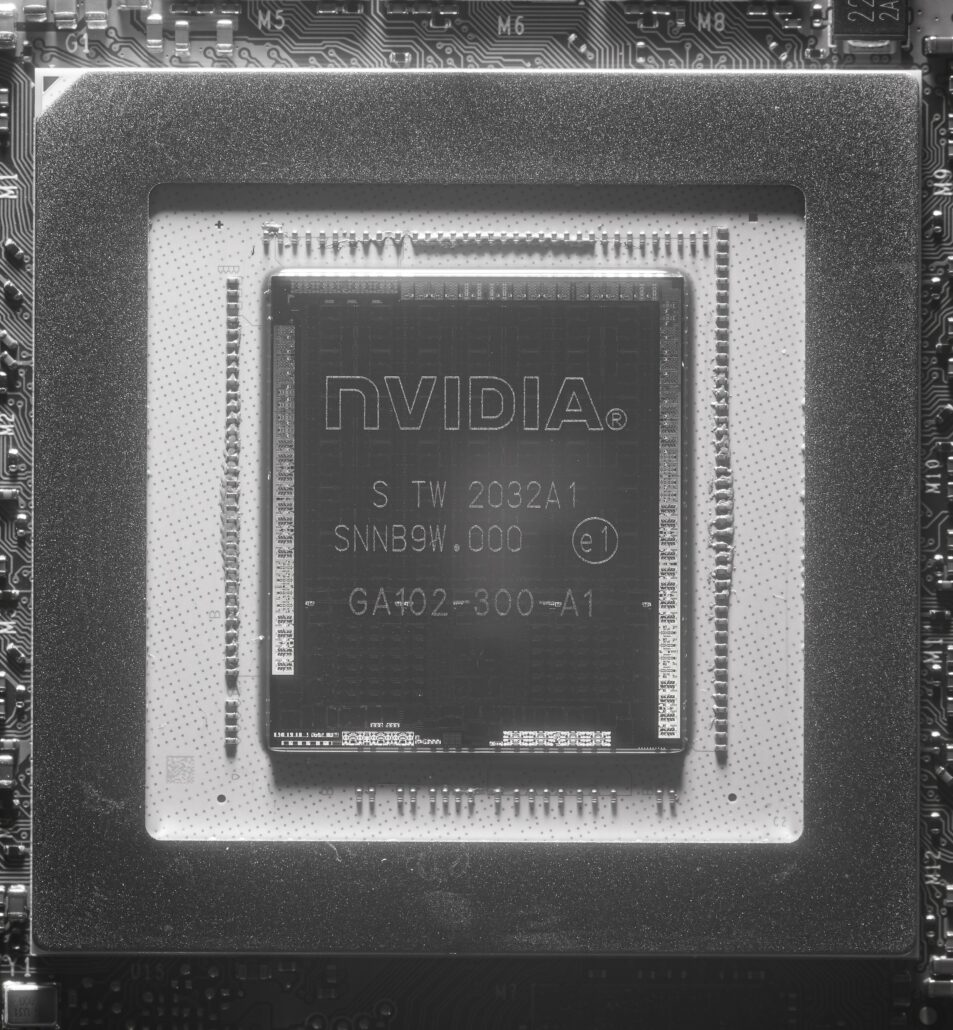NVIDIA Ampere GA102 GPU Die Shot _1