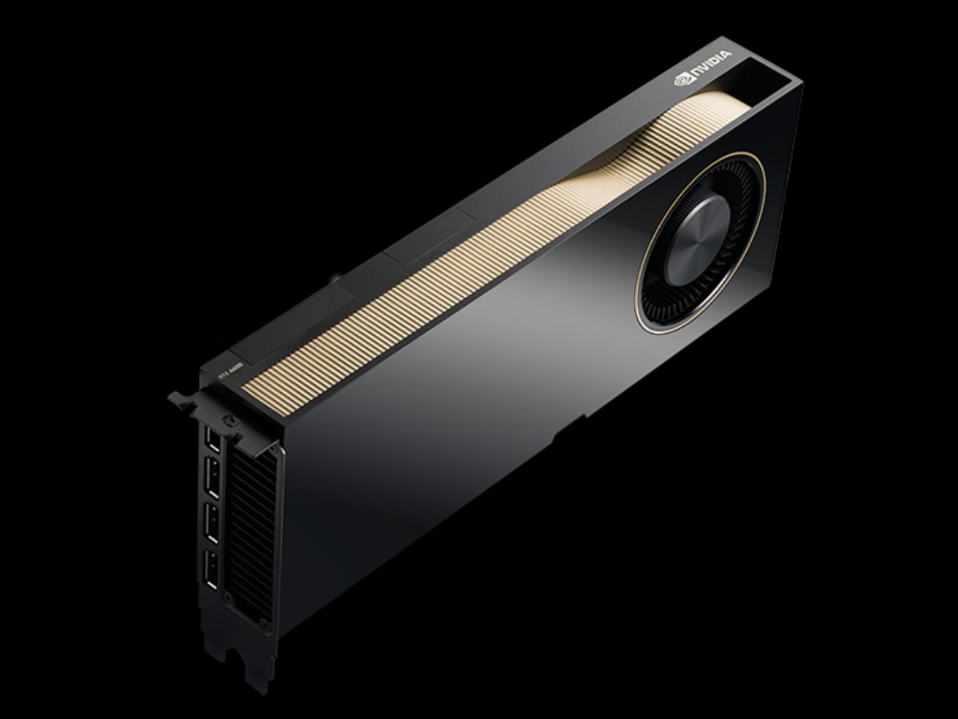 NVIDIA RTX A6000 48 GB Workstation Graphics Card Dengan Full GA102 GPU
