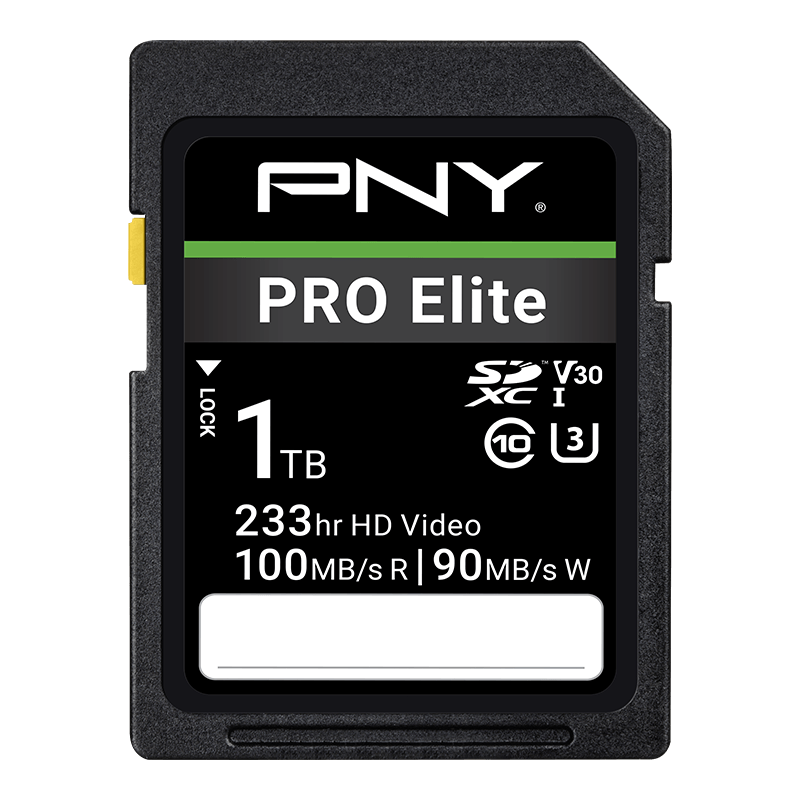 1 TB PRO Elite SDXC