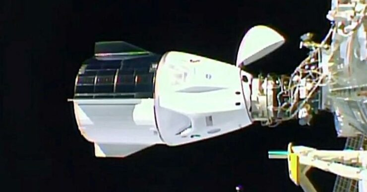 SpaceX Crew Dragon ISS Docked