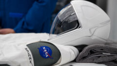 SpaceX Spacesuit and helmet