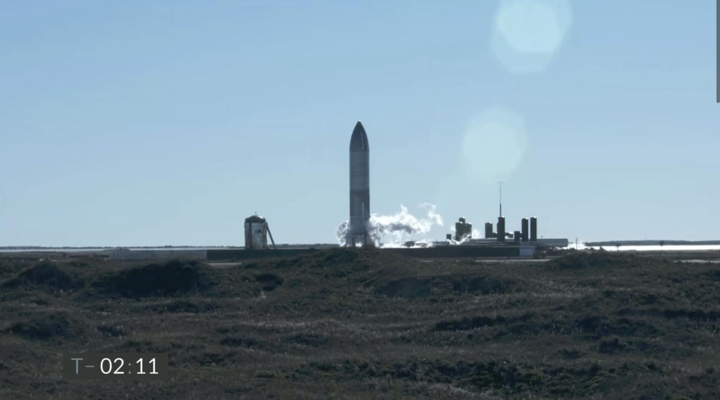 SpaceX Starship SN8 prototype