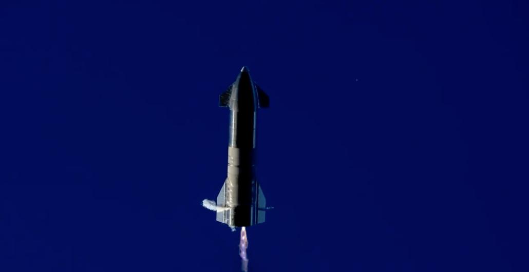 SpaceX Starship SN8 landing