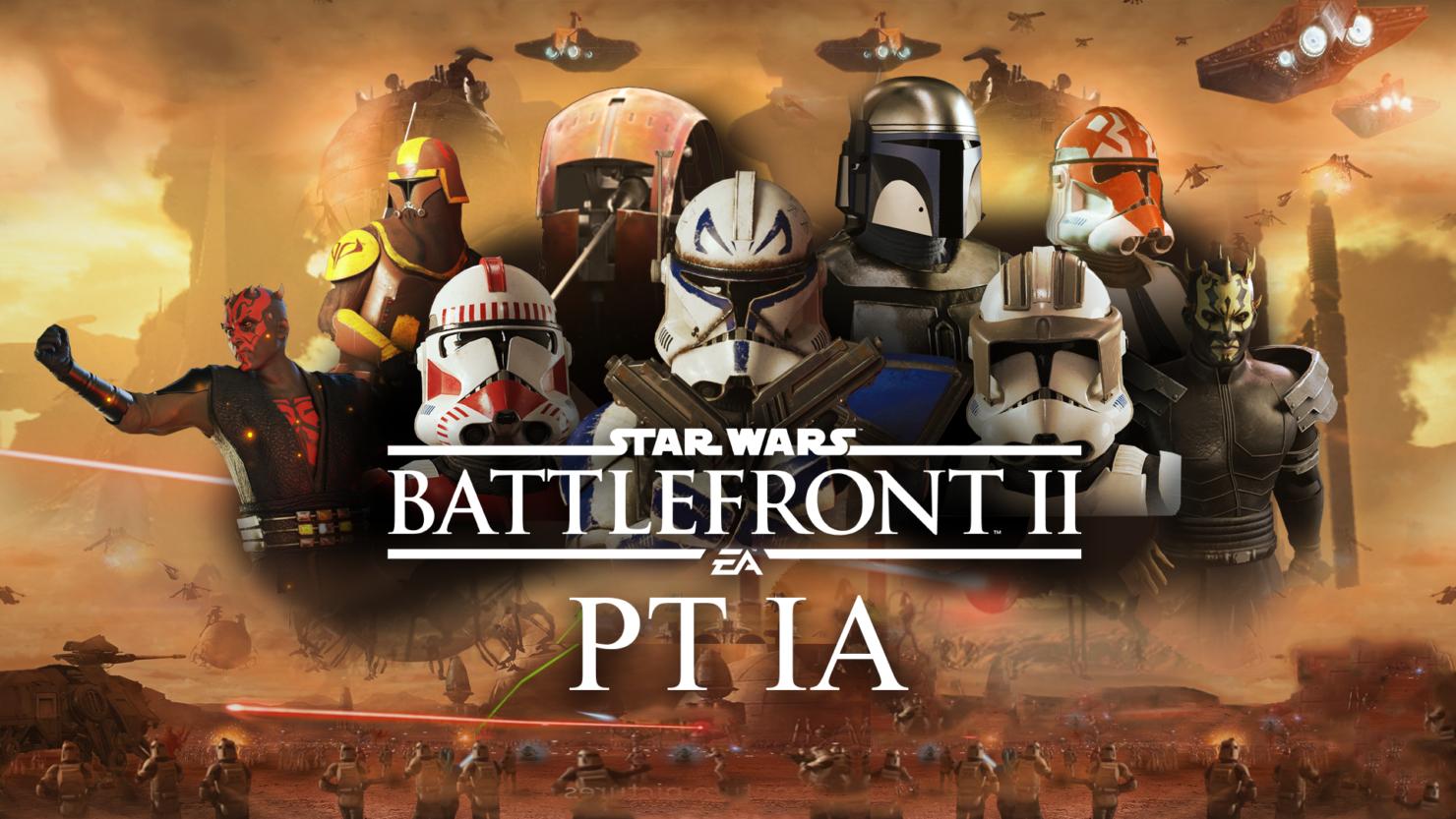 Star Wars Battlefront II Prequel mod 6