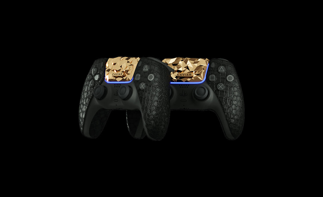 "Sultan! Caviar Hadirkan PlayStation 5 ""Golden Rock"" dengan Emas 18 Karat"