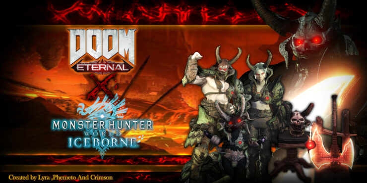 doom-eternal-monster-hunter-world-dlc-mod-45