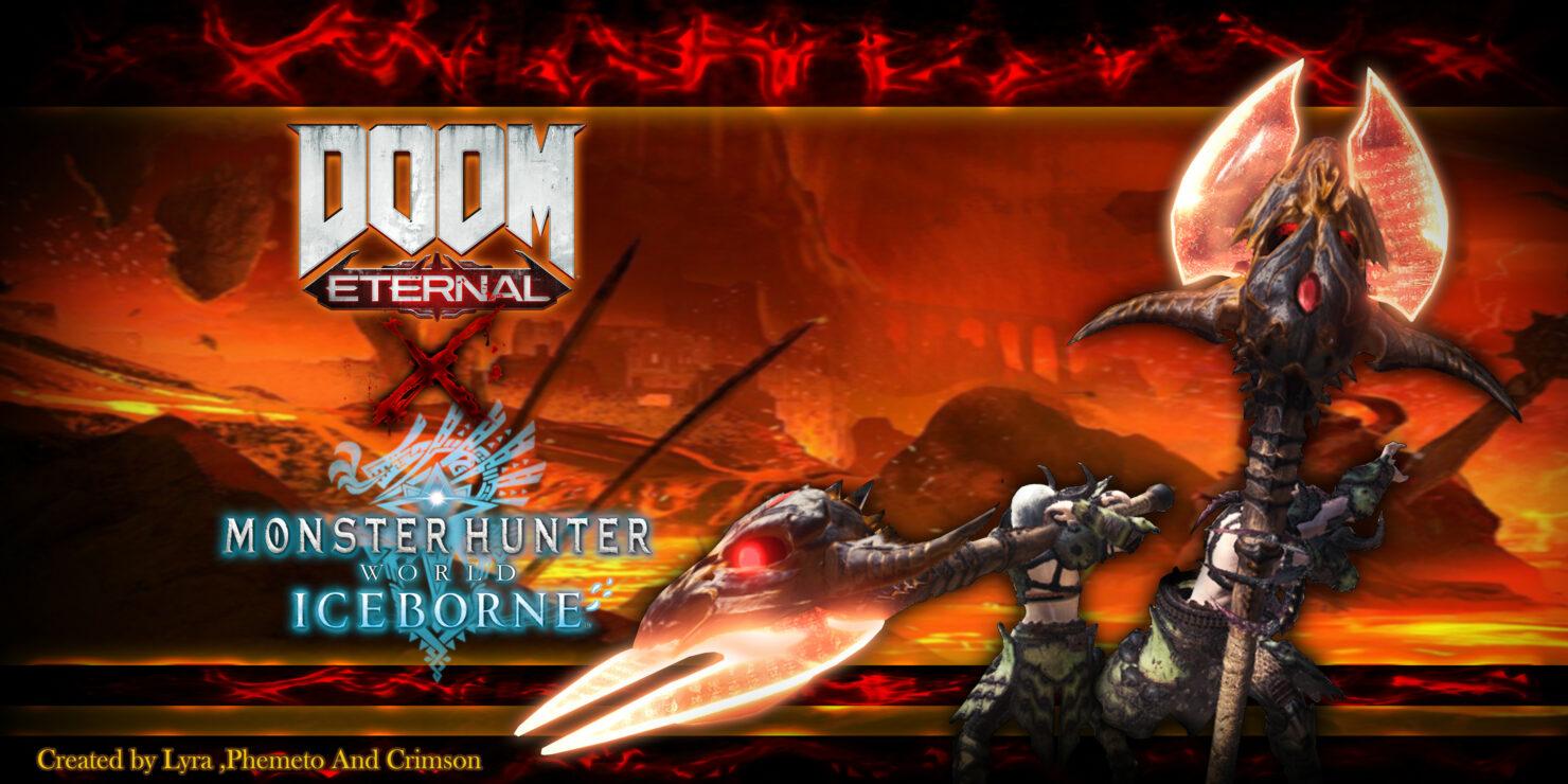 doom eternal monster hunter world dlc mod 56