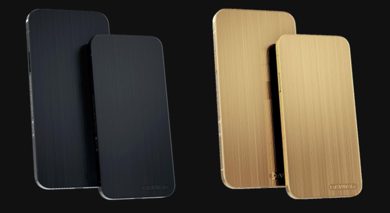 Caviar iPhone 12 Pro Stealth