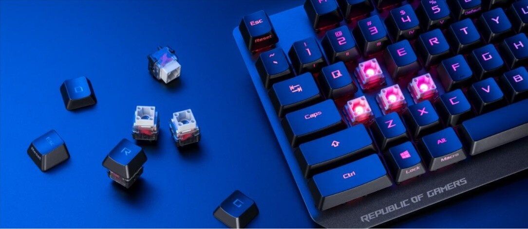 ASUS Announces the Strix Scope RX Keyboard