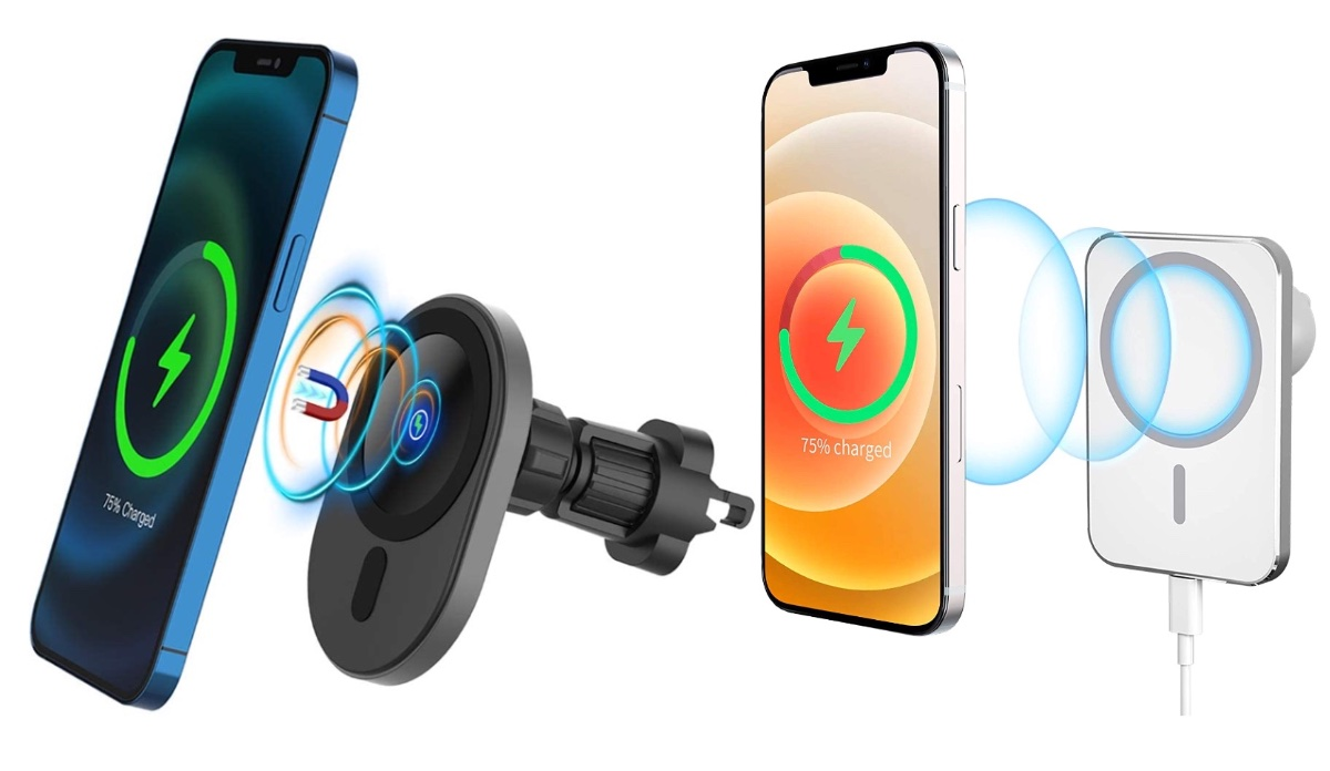 Best 15W MagSafe Wireless Car Chargers for iPhone 12, iPhone 12 Pro [List]