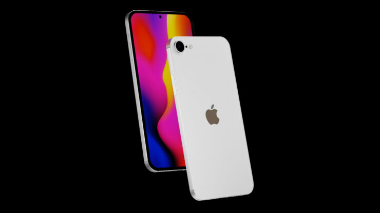 2021 iPhone SE Features an iPhone 12-Like Design With Flat Edges, Punch-Hole Camera, & Bezel-Less Display in New Concept