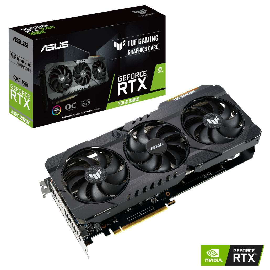 NVIDIA GeForce RTX 3060 Ultra ASUS GeForce RTX 3060 Ultra 12 GB GDDR6 TUF Gaming Graphics Card _1