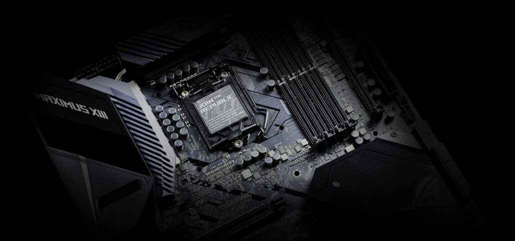 ASUS ROG Maximus XIII Motherboard With Intel Z590 Chipset _1