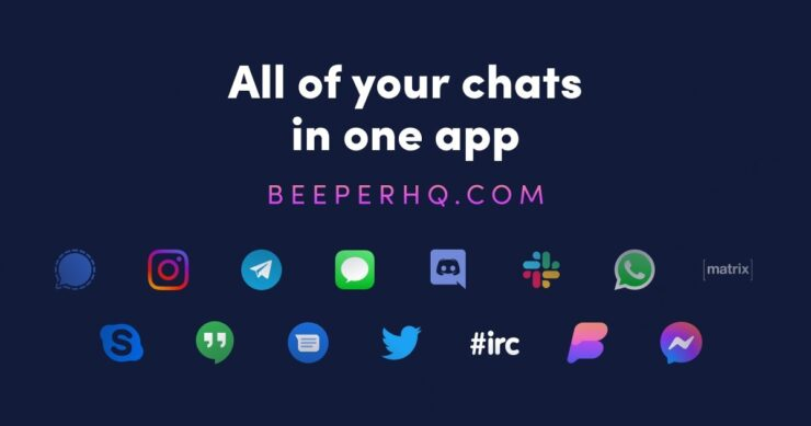 Beeper App brings iMessage on Android and Windows