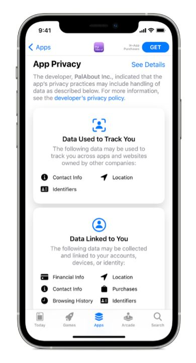 Apple Privacy Apps Facebook