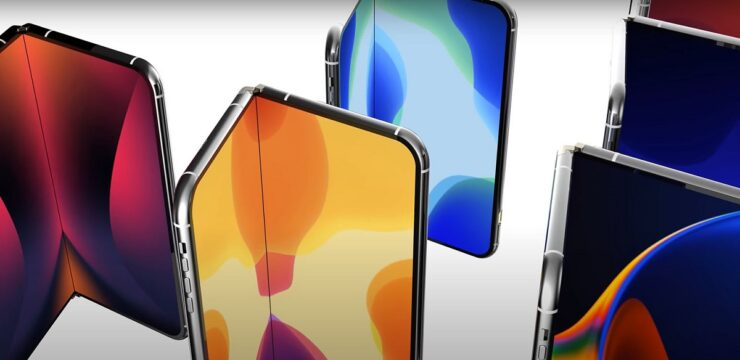 Foldable iPhone Prototype