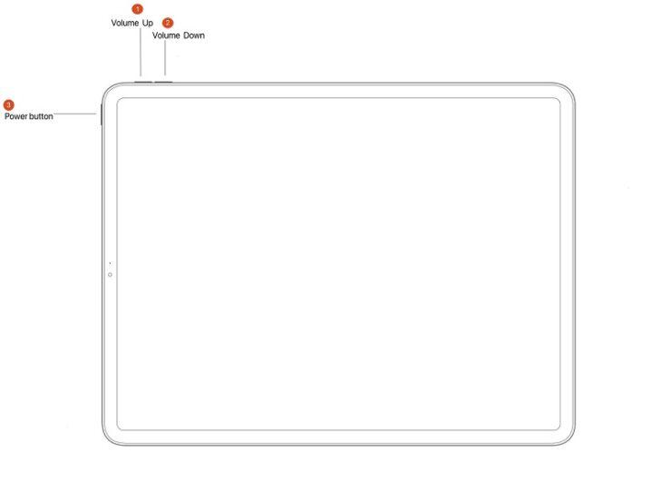 Force Restart 2020 iPad Air 4
