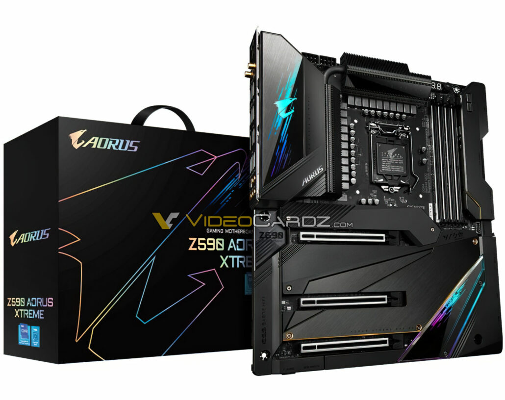 Gigabyte's Flagship Z590 AORUS Xtreme Motherboard Pictured