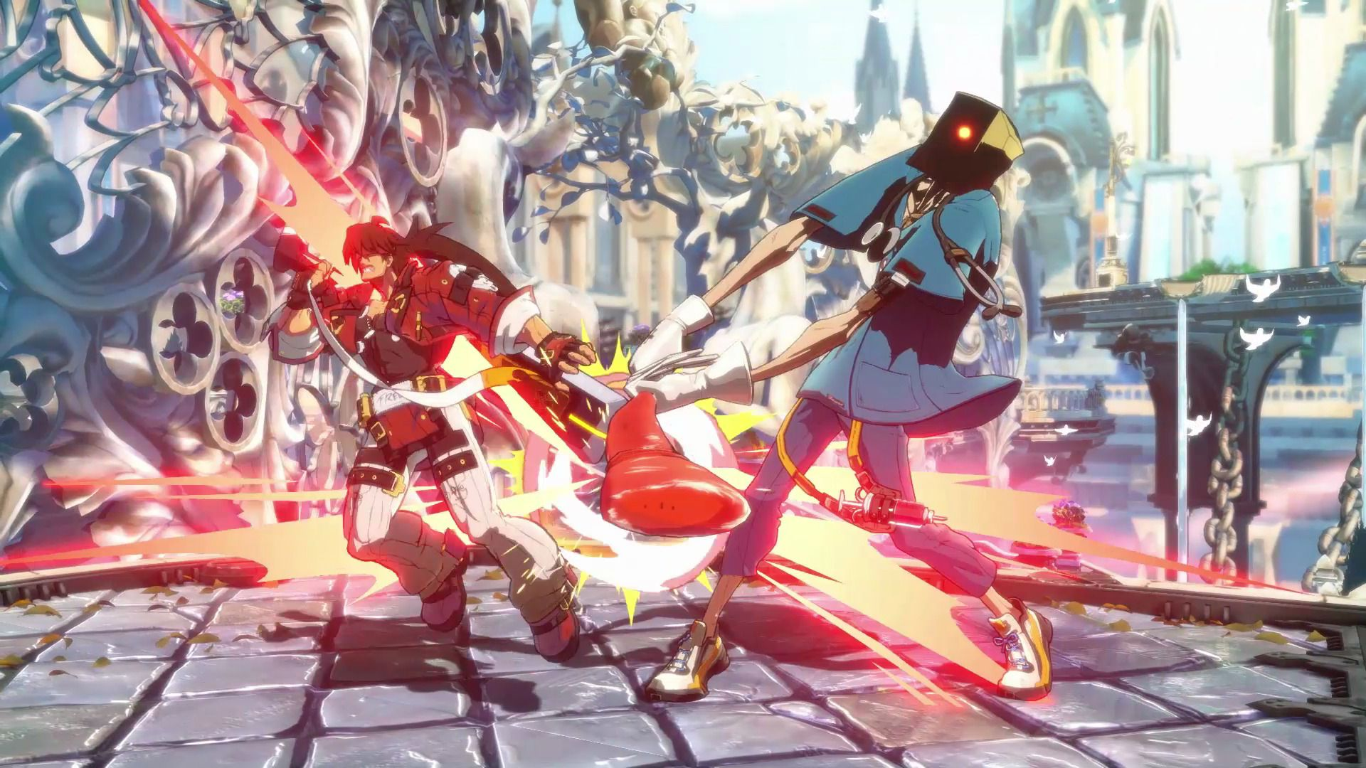 Anime Stye Game Guilty Gear Strive Pushed Back 2 Months