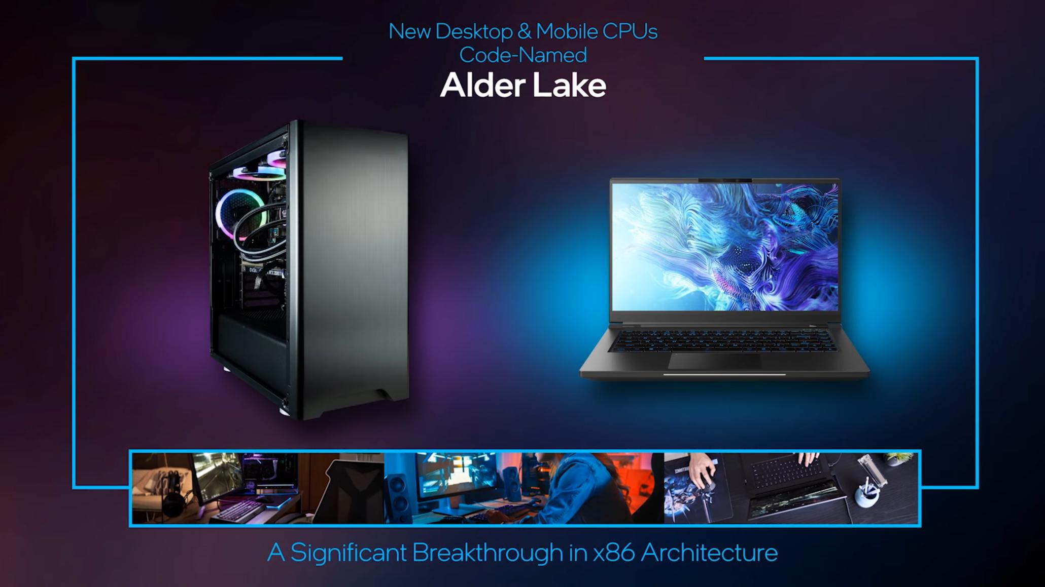 Intel Alder Lake-P mobile CPU dengan 14 core dan 20 threads