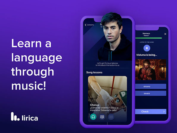 Lirica Premium Language Learning App Subscriptions