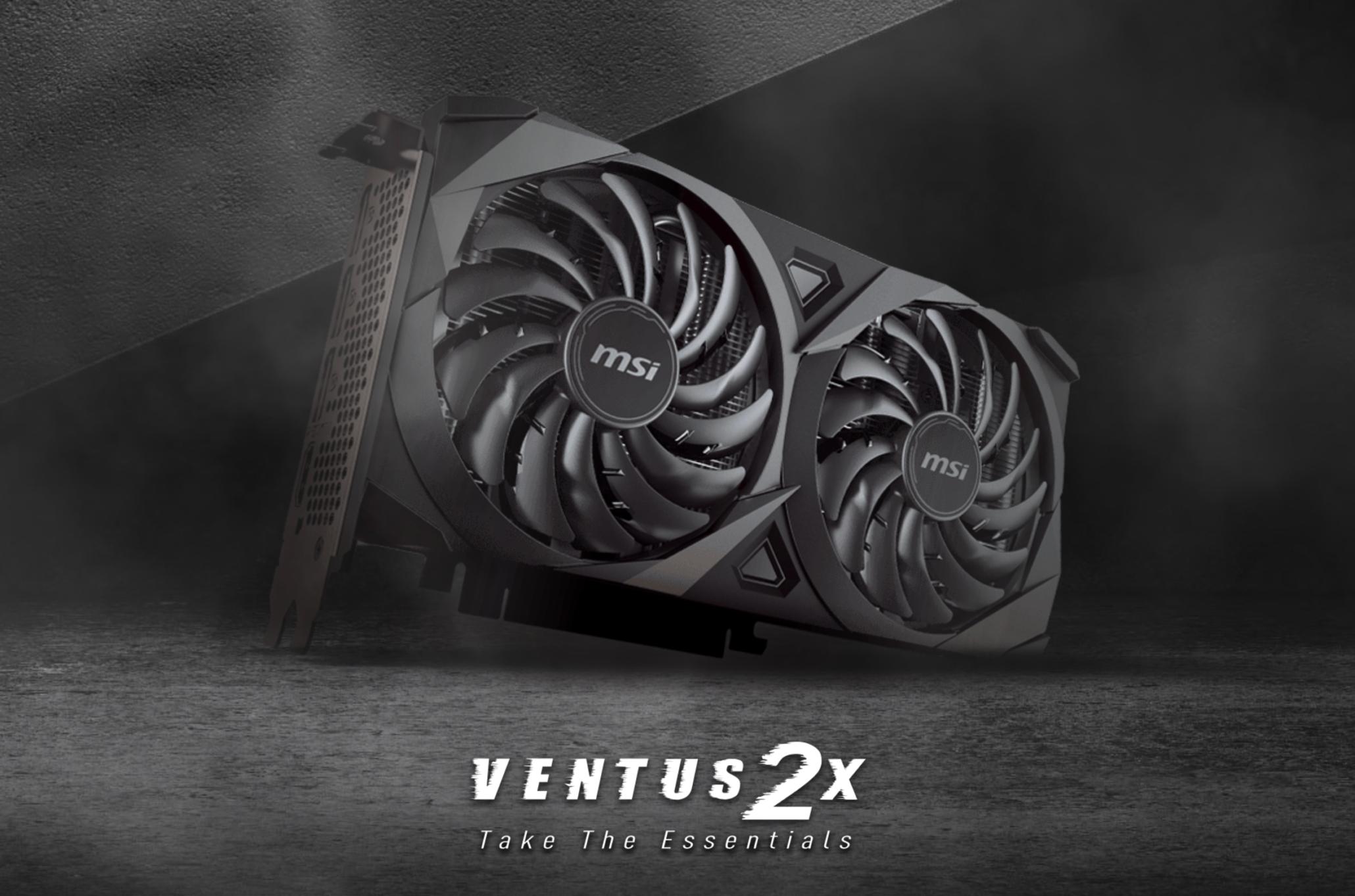 MSI Mengumumkan MSI GeForce RTX 3060 Ti Ventus 2X OC V1