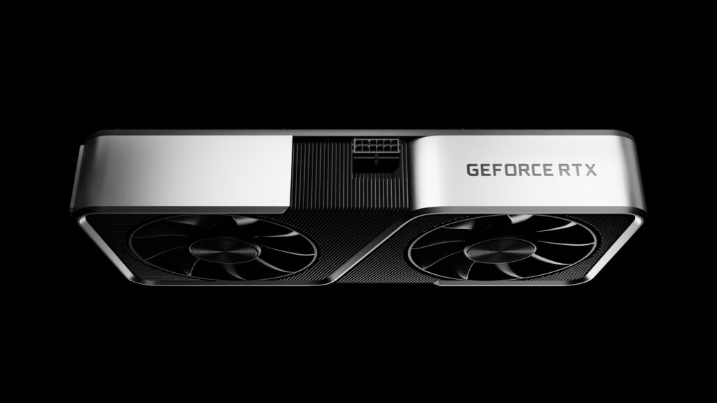 NVIDIA GA106 'Ampere' GPU For GeForce RTX 3060 12 GB Graphics Card Pictured _1