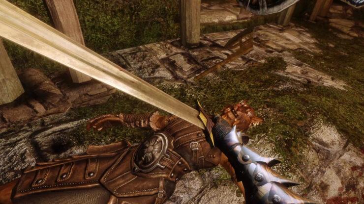 The Elder Scrolls V Skyrim First Person Combat Animations Mod