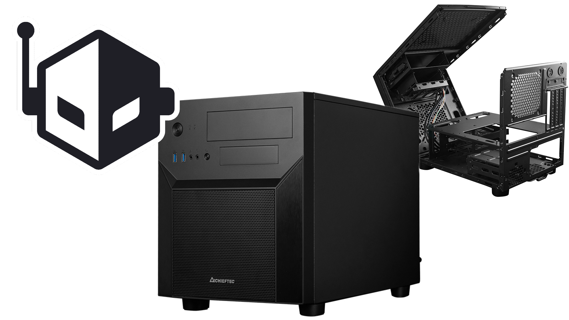 Chieftec Introduces the CL-02B-OP: A Unique mATX Cube Case