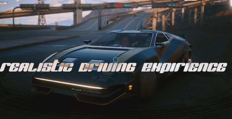 cyberpunk 2077 driving mod