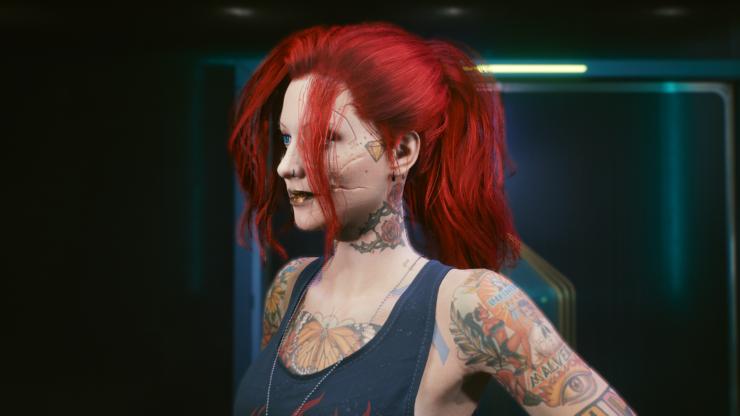 cyberpunk hair mods claire ponytail 4