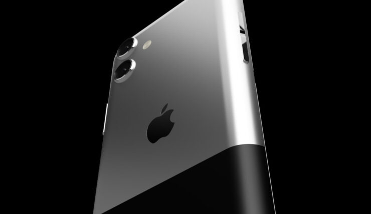 This iPhone 13 Anniversary Edition Concept Combines a Modern Design With the Two-Tone Finish of the First Model
