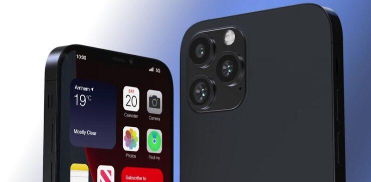 iPhone 13 concept renders